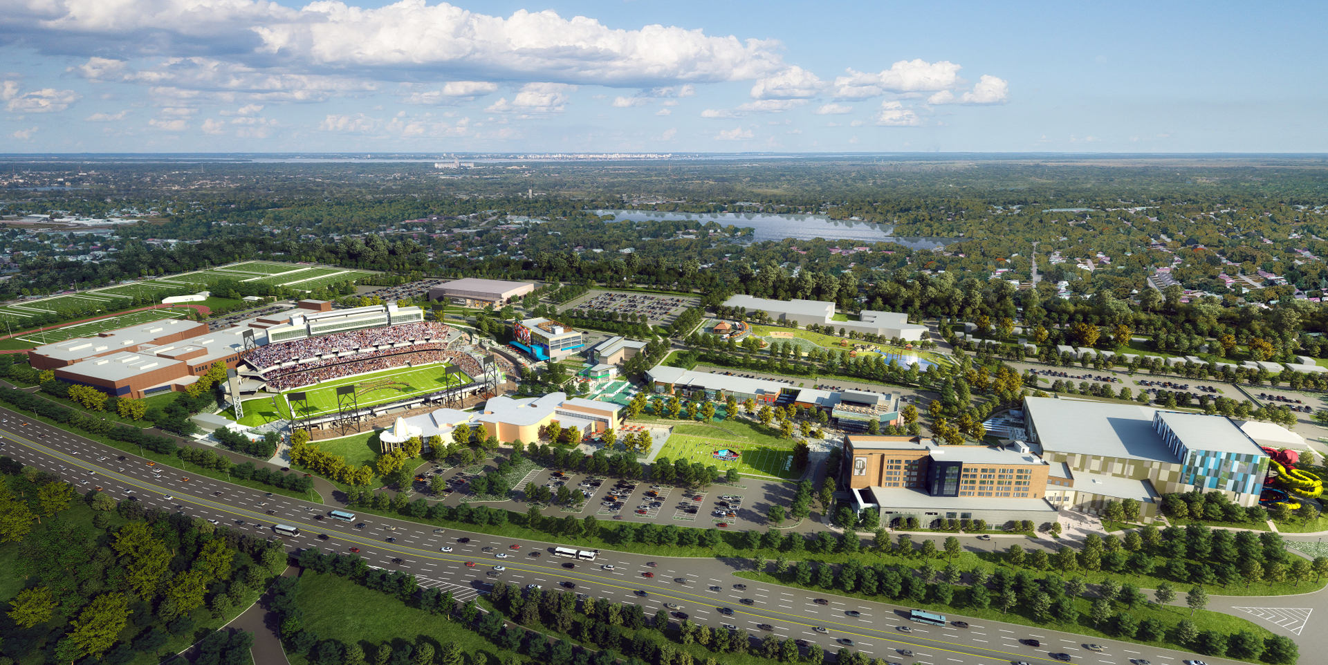 Pro Football Hall of Fame Village Master Plan - April 2020